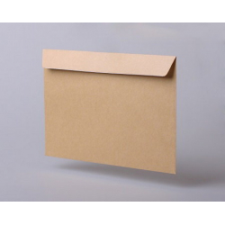 Envelopes C65, straight flap, silicone tape, 1000 pcs / pack