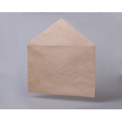 Envelopes C4, triangular flap, without glue, 500 pcs/pack