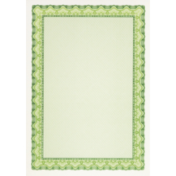 "Paper for certificates Decadry ""Green Wave"" (A4, 25 sheets)"