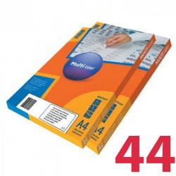 Этикетки удаляемые MULTILABEL, 48,5х25,4 мм , 44 шт. на листе А4, 100 шт/уп