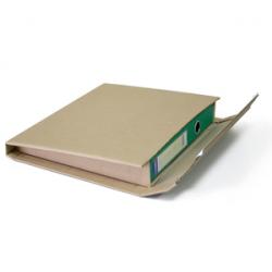 Упаковка из гофрокартона с изменяемой высотой, A4+, размер 320x290x35-80 мм,  вес 144 гр/шт, самоклеящийся клапан с отрывной пол
