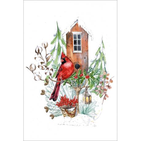 Домик красного кардинала