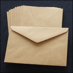 Envelopes C6, 1000 pcs/pack