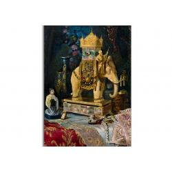 коллекционные открытки - художник Ludwig Augustin