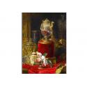 коллекционные открытки - художник Blaise Alexandre Desgoffe