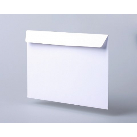 Envelopes C5, unsealed, straight flap, silicone tape, 1000 pcs/pack