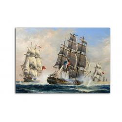 Парусники - художник John Bentham-Dinsdale