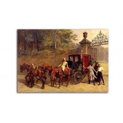 коллекционные открытки - художник Edmund Waller