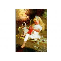 коллекционные открытки - художник Theodore Gerard
