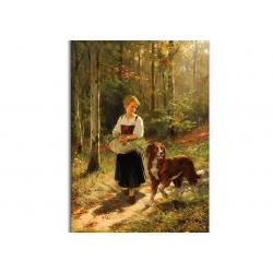 коллекционные открытки - художник Hubert Salentin