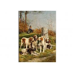 коллекционные открытки - художник Charles De Penne