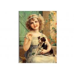 коллекционные открытки - художник Emile Vernon