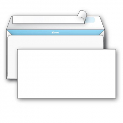Set of 100 E65 envelopes and stamps with a face value of 50 rubles for registered letters