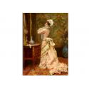коллекционные открытки - художник James Rougeron