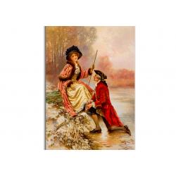 коллекционные открытки - художник Edward Moran