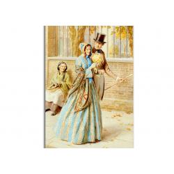 коллекционные открытки - художник Frederick Pegram