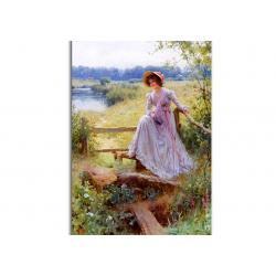 коллекционные открытки - художник William Affleck