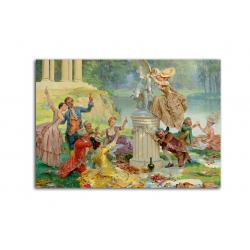 коллекционные открытки - художник Maurice Leloir