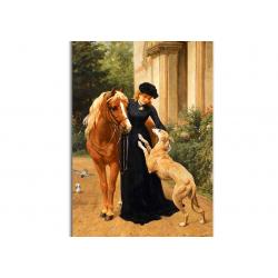 коллекционные открытки - художник George Holmes
