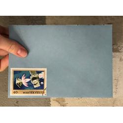 """Конверт С6 с гашенной почтовой маркой """"Олимпиада 1980. Москва"""""""
