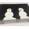 Kontseptual'nyye Snegoviki na glubokom chernom 43/5000 Conceptual Snowmen on Deep Black