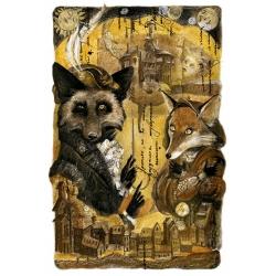 "Illustration for the novel Fred Adra ""Fox Ulysses"""