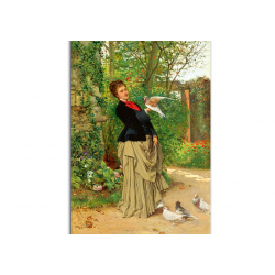 коллекционные открытки - художник Adrien Moreau