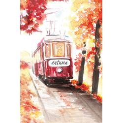 Autumn tram