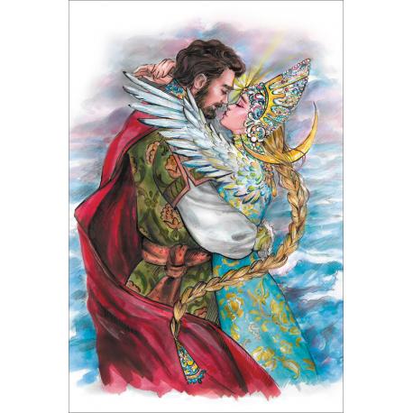 Prince Gwidon and the Beautiful Princess-Swan