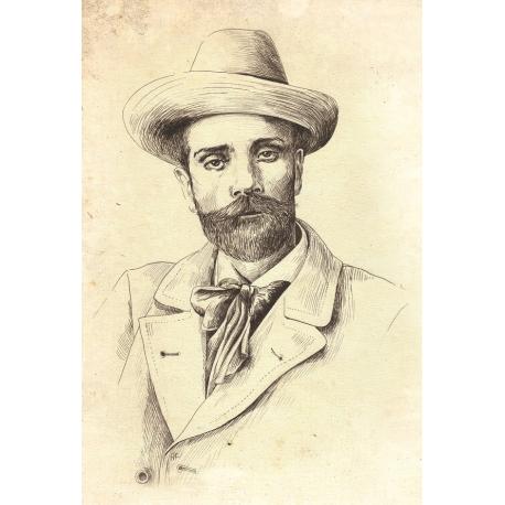 Portrait. Isaac Levitan. For Artbookmania magazine