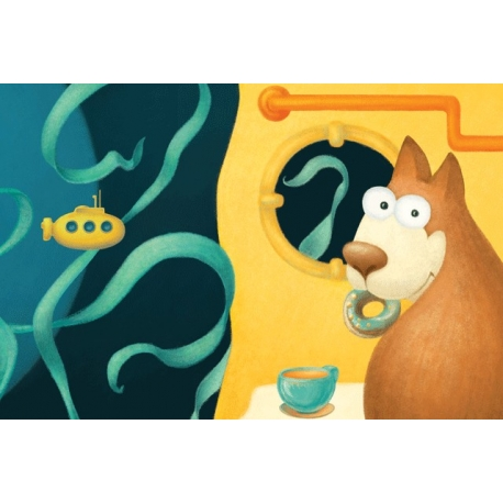 Filbert's underwater tea party