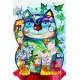 Цветочный кот