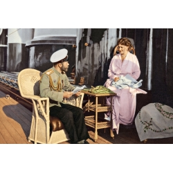 Император Николай II и Императрица Александра Федоровна