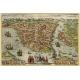 Стамбул, картограф - Георг Браун и Франц Хогенберг, 1572 г.