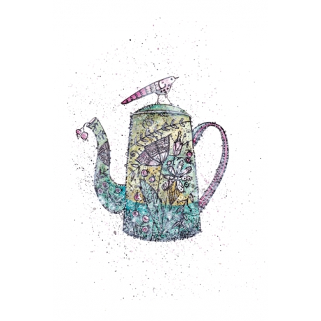 The kettle with herbs