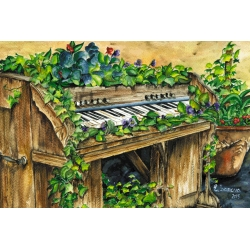 Blossoming piano