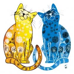 Dandelion cats