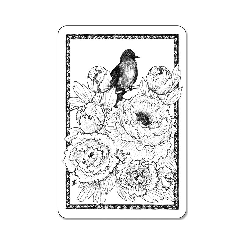 Картинки, раскраски почтовых открыток