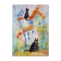 Домик с кошками