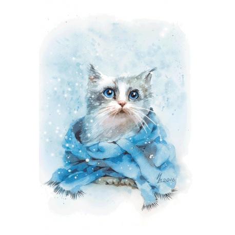 Зима - сезон шарфиков
