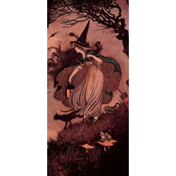 """Ida Rentoul Outhwait """"Elves & Fairies"""" (1916)"""