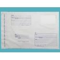 Plastic postal package C6