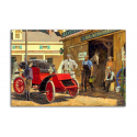 Vintage Car - artwork by Kenneth Pauling Riley