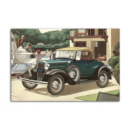 Ford Roadster 1931 - artwork by James Williamson