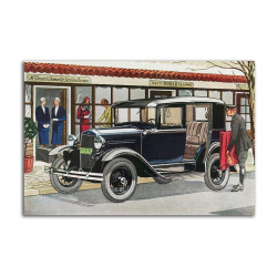 Ford De Luxe Sedan 1931 - artwork by James Williamson