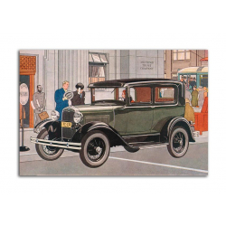 Ford two-door Sedanи 1931 - artwork by James Williamson