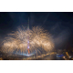 Festival Circle of Light. Fireworks at the Ostankino TV tower, Moscow