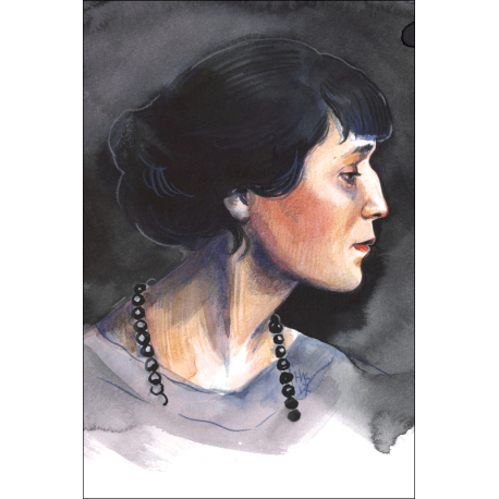 Russian writers. Anna Akhmatova