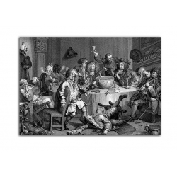 Гравюра - художник William Hogarth