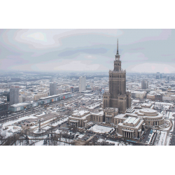 Warsaw. Palace of Culture and Science